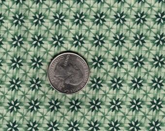Green Pinwheels JOan Messmore Vintage VIP Cranston Printworks Quilt Cotton