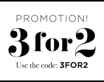 3 FOR 2 Promotion, Typography prints, Wall Art, Motivational Quotes, Sale, campaign