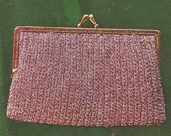 Vintage Crochet Clutch Pattern