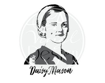 Daisy Mason | Downton Abbey inspired Vinyl Decal