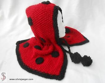 Hooded scarf Scoodie - = bug