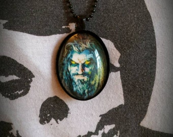 Black Large Pendant Rob Zombie Necklace