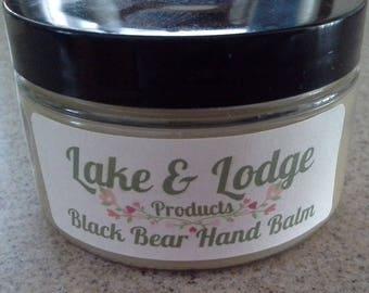 Black Bear Hand Balm Lavender base