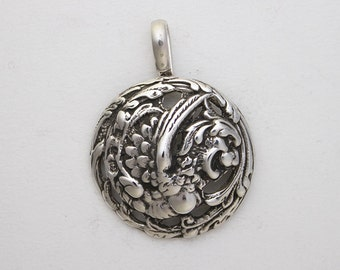 Sterling Silver First Beast Pendant