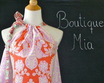 Pillowcase DRESS or TOP - Amy Butler - Love - Made in ANY Size - Boutique Mia