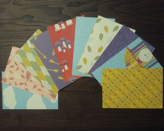 Cuckoo Clock Cardstock, 4x6 Card Fronts, 4x6 Cardstock, Clock Pocket Page Cards, 4x6 Cardstock, Patterned Paper, Clock Paper, Forest Paper