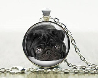 Dog Necklace Dog Photo Necklace Custom Pet Necklace Pet Picture pendant -Choose Bronze or Silver or Sterling Silver Snake Chain