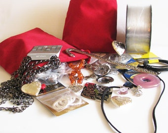 Jewelry Making Bulk Bag, Jewelry Making Grab Bag, Craft Making Grab Bag, Grab Bag 3