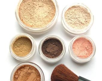 Mineral Makeup Natural Vegan Mineral Kit - SUMMER GLOW
