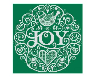 Christmas Joy - Durene J Cross Stitch Pattern - DJXS2230