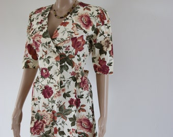 Vintage floral Playsuit
