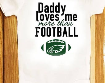 Daddy loves me more than Football