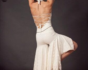 Goddess Onesie, Jumpsuit, Romper, Playsuit, Bodysuit, Hoop Clothes, Festival Clothing, Cosplay, Bohemian, Burning Man, Wedding Dress