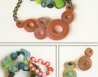Zipper Jewels Pattern by Indygo Junction (IJ895)