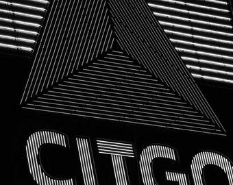 Boston Citgo Sign Closeup, Boston Photography, Boston Print, Boston Art, Boston Decor, Citgo Sign, Landmark