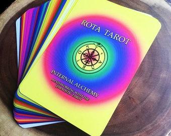 Rota Tarot: Internal Alchemy (Qabalistic Pathworking Tarot Deck)