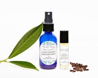 Natural Clove Perfume - Organic Clove Perfume - Essential Oil Perfume - Clove Oil - Clove Fragrance - Spice Perfume - Aromatherapy