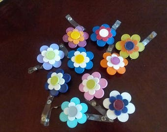 Employee ID/Flower badge holder