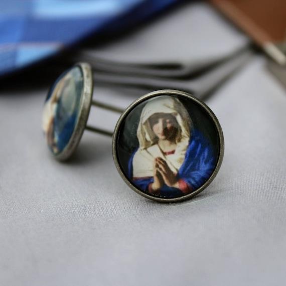 Virgin Mary Cufflinks
