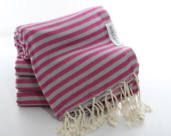 Mediterranean   Travel Towel   Beach Towel   Bridesmaid Gift   Quick dry towel   Peshtemal   Turkish Towel   Turkish Beach Towel  Mon Castle