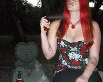 Cemetery Rose BODY MIST, 4oz, Gothic, Dark As Night Collection