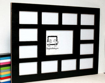 Multiple Opening Picture Frame 4 Opening For 4x6 4x4 5x5 Or