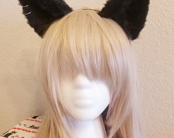 Punk cat ears cosplay