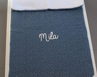 Winter blanket baby personalized