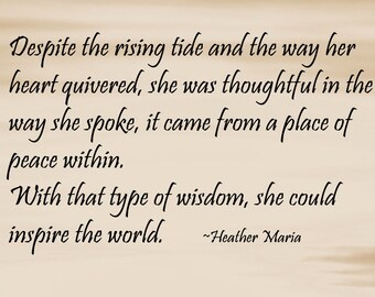 Inspirational Poetry by Heather Maria