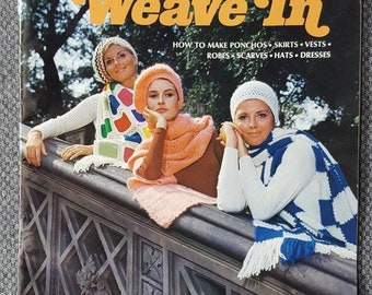 Vintage Weave-it Weave in instruction booklet