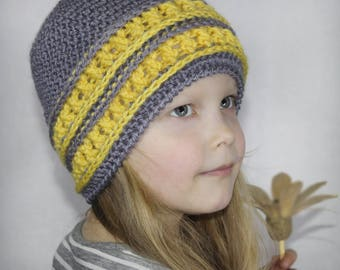 Crochet hat pattern, pattern hat, crochet hat (Toddler, Child, and Adult sizes) chunky hat pattern, PDF pattern, crochet pattern