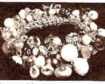 Friendship Button Bracelet Crochet Pattern 723078