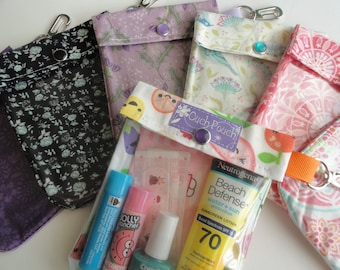 Grab Bag Sale Clear Front Clip Pouch(es) 4x5 Cosmetics Purse Junk Organizer Co Worker Teacher Appreciation Mother's Day Gifts Under 6
