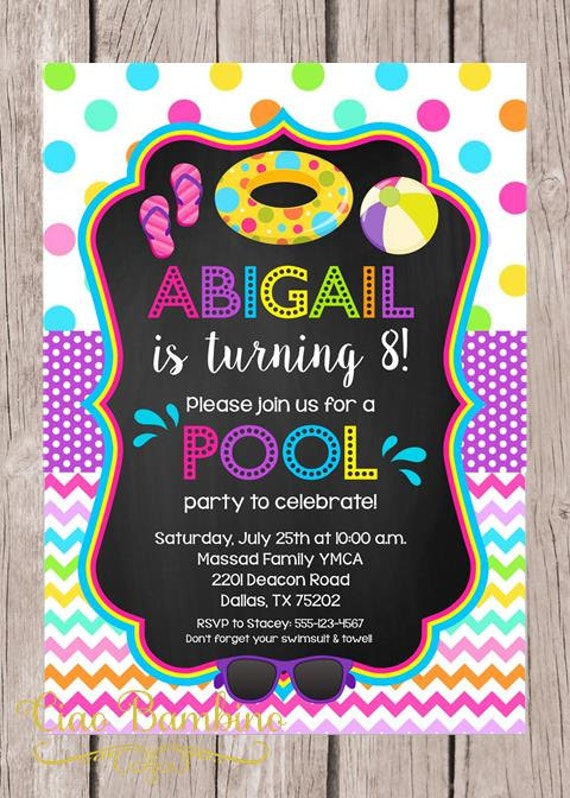 Gutsy image inside pool party printable