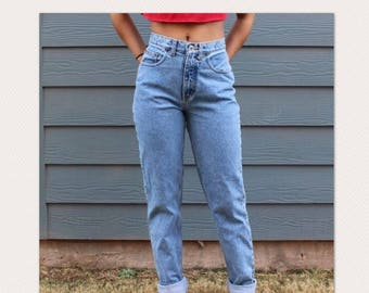 Vintage Relaxed Mom Jeans Boyfriend Jeans