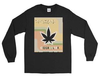Stoner Colorado Funny Long Sleeve T-Shirt