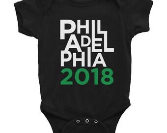 Philadelphia Shirt, Philadelphia Eagles Shirt, Philly Kids Shirt, Philadelphia 2018, Football Fan Gift, Eagles Shirt, Philly Baby Onesie