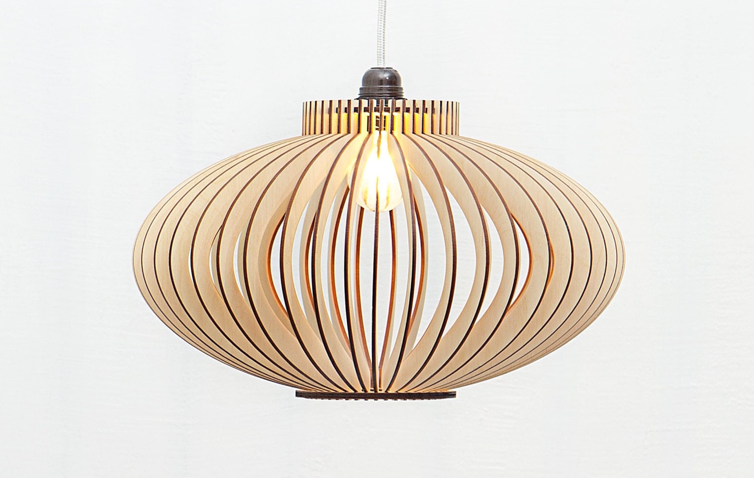 Already assembled wooden lamp wood lamp scandinavian style zoom arubaitofo Images