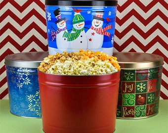 Popcorn Gifts Corporate Gifts - Gourmet Gifts Popcorn Gift Set - Coworker Gift Gourmet Popcorn, Caramel Corn, Cheese Corn, Mothers Day Treat