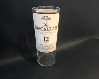 Macallan Candle/The Macallan Candle/Macallan Scotch Fine Oak 12 Year Scotch Whiskey Bottle Soy Candle. Made To Order !!!!!!!
