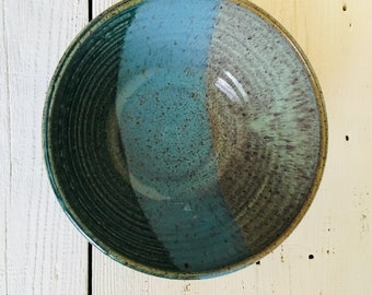Everything bowl in Landscape Glazes