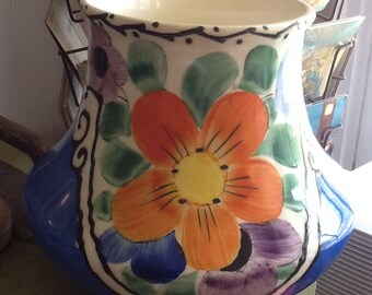 SALE! Beautiful handpainted Czechoslovakian pottery