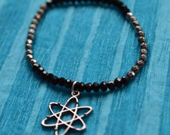 Biolojewelry - Atom Molecule Beaded Bracelet