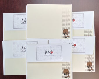 Fillin' the Note, Set of 6 Notecards