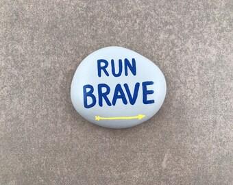Charity Donation - Boston Children's Hospital - Run Brave - Painted Rock