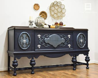 SOLD - Large Jacobean Buffet