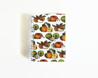 Apples and Blossoms Notebook A6 Spiral Bound