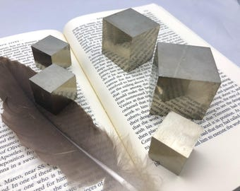 Choice of Small Pyrite Cube