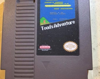 Toad's Adventure -Nintendo NES - Repro-Homebrew- Unreleased Game