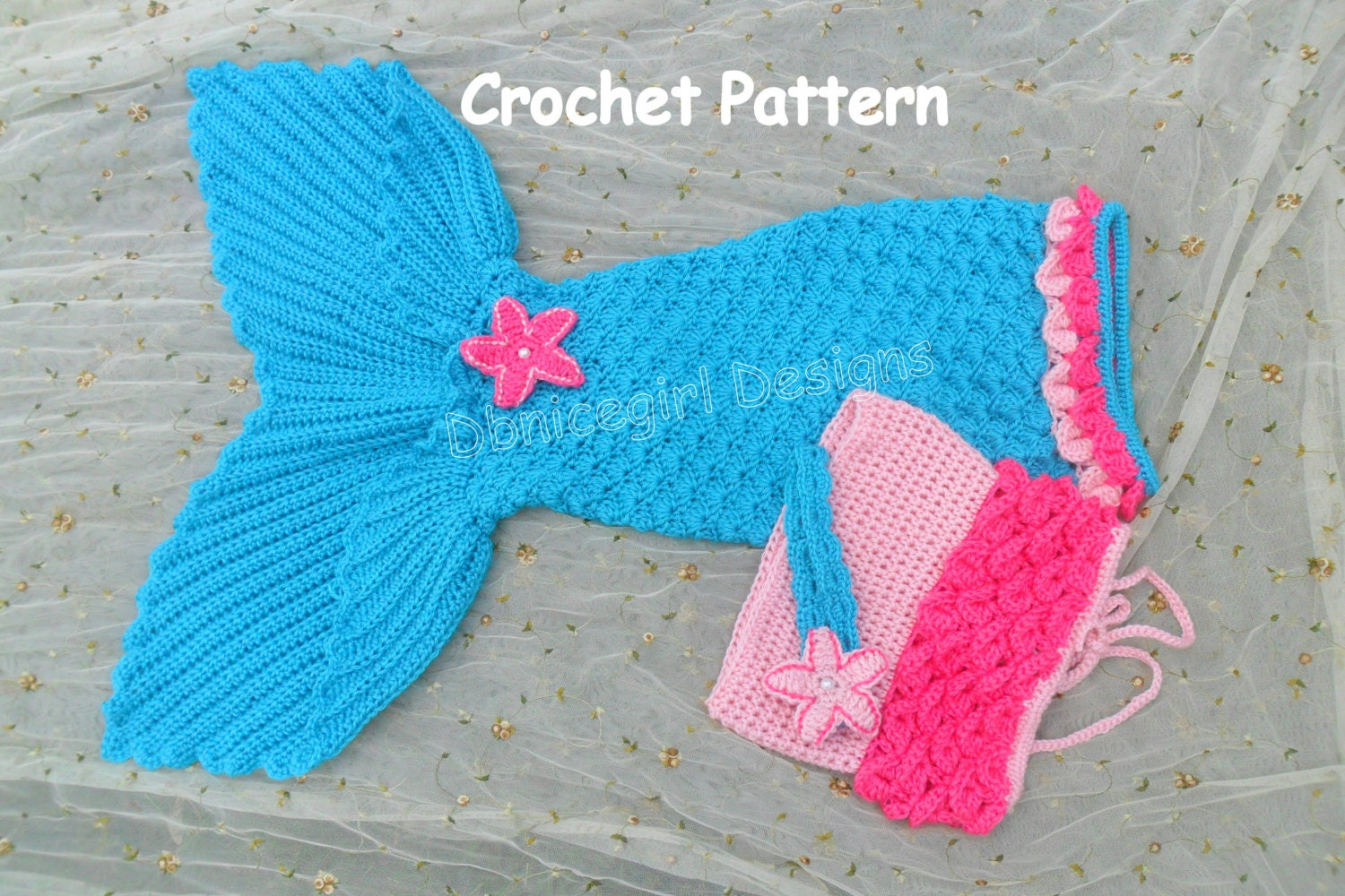 Mermaid costume 4 piece set with open tail mermaid skirtcrochet mermaid costume 4 piece set with open tail mermaid skirtcrochet pattern dt1010fo